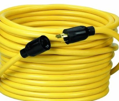 Image 0 of 09208 12/3 SJTW Twist To Lock Extension Cord 20-Amp by Coleman Cable