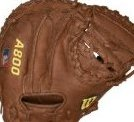 Image 0 of A800 1791 Game Ready Soft Fit Catchers Throw Basbeall Mitt by Wilson