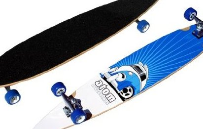 Image 0 of Atom Pin-Tail Longboard 43-Inch by Atom Longboards