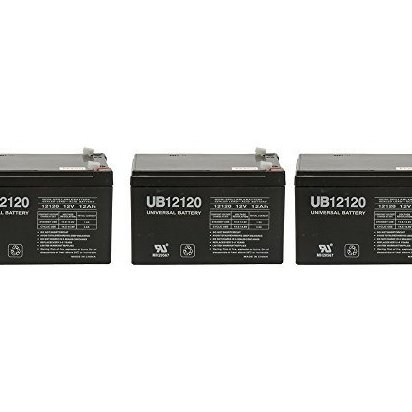Image 0 of 12V 12Ah X-treme X-360 X360 Scooter Battery - 3 Pack by UPG