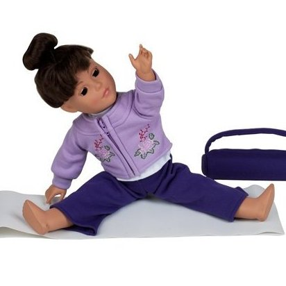 Image 0 of 18 Inch Dolls Yoga - Fits American Girl Dol by Emily Rose Doll Clothes