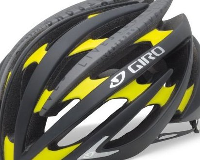 Image 0 of Aeon Cycling Helmet Matte Black/Yellow Livestrong Medium by Giro