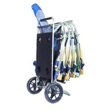 Image 0 of Beach Cart with Folding Table / Drink Holders by copa