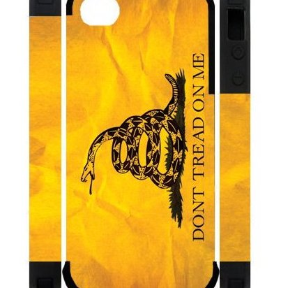 Image 0 of 3D Dont Tread On Me Best Custom Cell Phone Case Cover by Brodie Cases