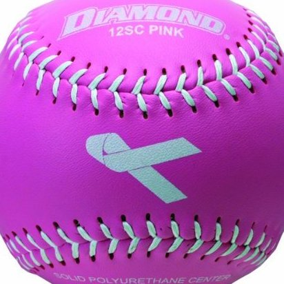 Image 0 of 12-Inch Synthetic Cover Softball 12-Pack by Diamond Sports