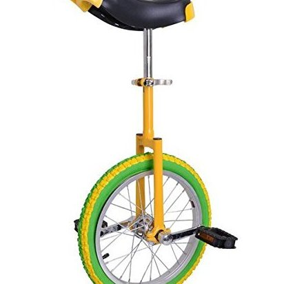 Image 0 of 16 inch Wheel Lemon Unicycle by ShopOC