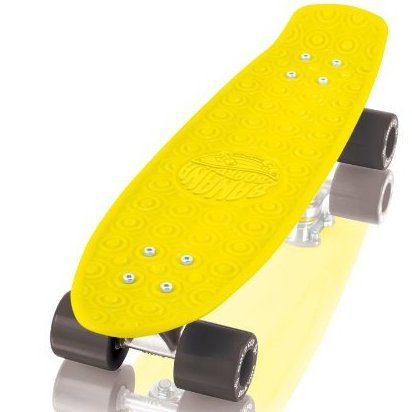 Image 0 of Banana Board Cruzer Yellow 5.8-Inch x 23.25-Inch by Gold Cup