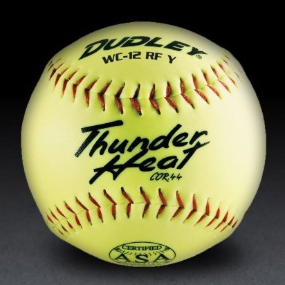 Image 0 of ASA Thunder Heat 12quot; .44 Slow Pitch Softball - Composite by Dudley