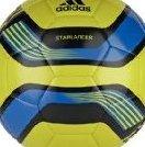 Image 0 of Adidas Starlancer III Soccer Ball Lab Lime/Black/Bright Blu by adidas