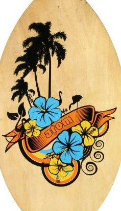 Image 0 of Atom Skimboard 35-Inch by ATOM