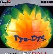 Image 0 of Baden Tie Dye Outdoor Synthetic Leather Volleyball by Baden Sports