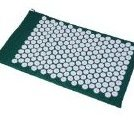 Image 0 of Acupressure Mat - Stress / Back Pain Relief - Green by Soozier