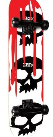 Image 0 of 3 Skull Blood Complete White/Red 7.75-Inch by Zero
