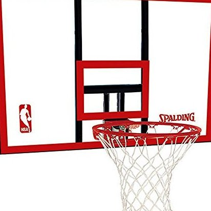 Image 0 of 79351 Backboard/Rim Combo with 44-Inch PolyCarbonate Back by Spalding