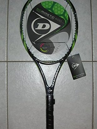 Image 0 of Biomimetic 400 Tour Tennis Racquet 1/4 Grip by Dunlop Sports