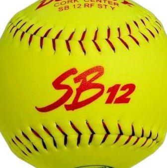 Image 0 of ASA SB 12T Slow Pitch Softball - Dozen by Dudley