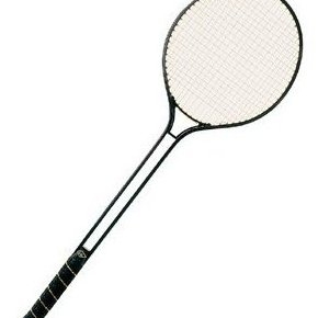 Image 0 of Aluminum Double Shaft Badminton Racket - Steel Stri by Champion Sports