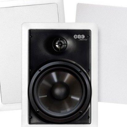 Image 0 of 6 1/2 150-Watt Weather-Resistant In-Wall Speaker by BIC America