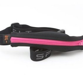Image 0 of Adult Water Resistant Belt with Energy Gel Loops Hot Pink by SPIbelt