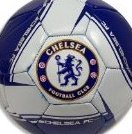 Image 0 of 2013 Chelsea FC Soccer Ball- Home Silver5 by Rhinox
