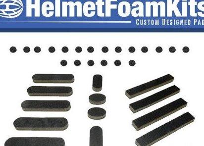 Image 0 of Bicycle Helmet Replacement Foam Pad Set Universal by Helmet Foam Kits