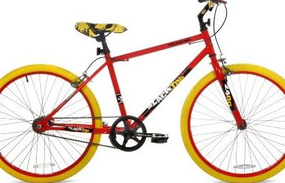 Image 0 of Blacktop Fixie Bike 24-Inch Wheels Red by Takara