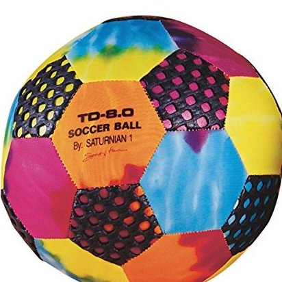 Image 0 of 8in Fun Gripper Soccer Ball by Saturnian