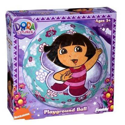 Image 0 of 8.5 inches  Nickelodeon Dora The Explorer Rubber P by Franklin Sports