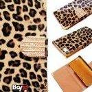 Image 0 of Bayke Brand / iPhone 5 Luxury Leopard Print PU Leather Wallet by bayke