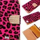 Image 0 of Bayke Brand / New iPhone 5S Luxury Leopard Print PU Leather W by bayke
