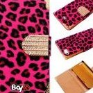 Image 0 of Bayke Brand / iPhone 4 iPhone 4S Luxury Leopard Print PU Leat by bayke