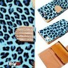 Image 0 of Bayke Brand / New iPhone 5C Luxury Leopard Print PU Leather W by bayke