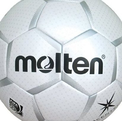 Image 0 of Acentec Soccer Ball White/Silver Size 5 by Molten