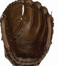 Image 0 of A2000 Showcase Series 2-Piece Closed Web Glove 11 3/4-Inch by Wilson