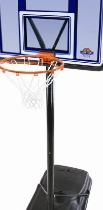 Image 0 of Acrylic Fusion Pro Court Portable Basketball System 44-I by Lifetime