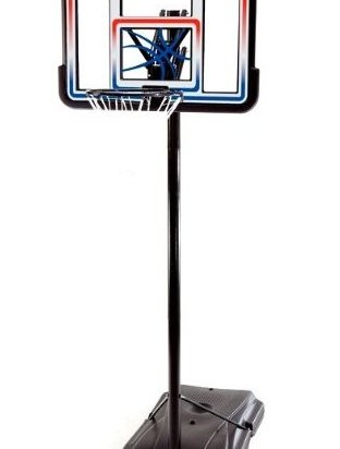 Image 0 of 1533 Portable Basketball Hoop with 44 Inch Acrylic Backbo by Lifetime