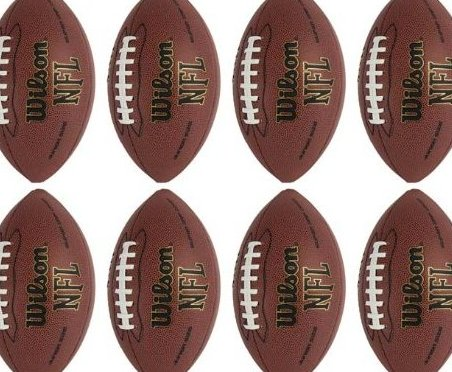 Image 0 of 8  NFL Super Grip Official Junior Footballs by Wilson