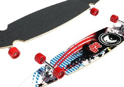 Image 0 of Atom Pin-Tail Sc Longboard 49-Inch by Atom Longboards