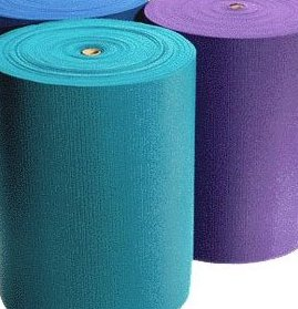 1/4 Extra Thick Deluxe Yoga Mat Roll 103 f by YogaAccessories TM