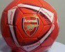 Image 0 of 2014 Arsenal Official Soccer Ball-Home-2-Skills Ball by Rhinox