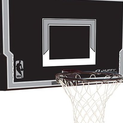 Image 0 of 44-Inch Backboard and Rim Combo with Advanced Eco-Composi by Spalding