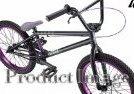 Image 0 of Fathom Matte Black w/ Purple BMX Bike by Amber