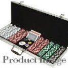 Image 0 of 500 Dice Style 11.5-Gram Poker Chip Set by Trademark Poker