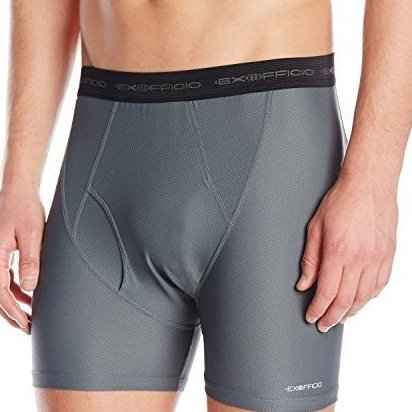 Image 0 of Mens Give-N-Go Boxer Brief 2 Pack X Large Charcoal by ExOfficio