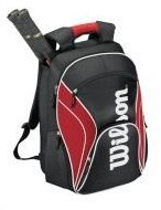 Image 0 of 12 Federer Tennis Backpack-Red/Black/White by Wilson