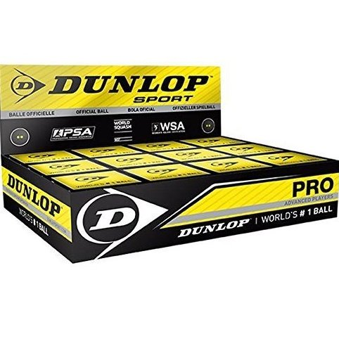 Image 0 of Sports Pro XX Squash Ball - Dozen Pack by Dunlop