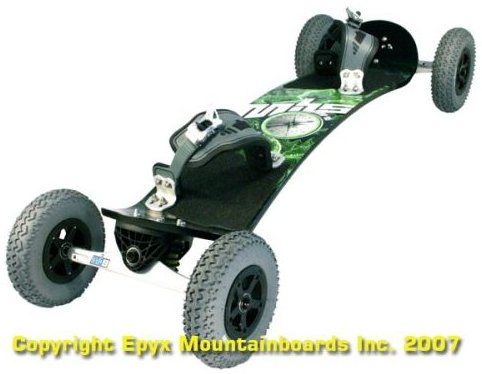 Image 0 of Comp 95 Mountainboard by MBS