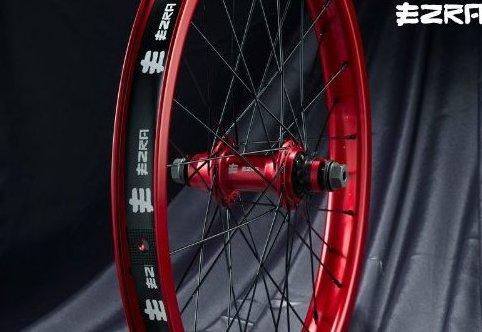 Image 0 of Opus Rear Cassette Wheel-36h-Red by EZRA