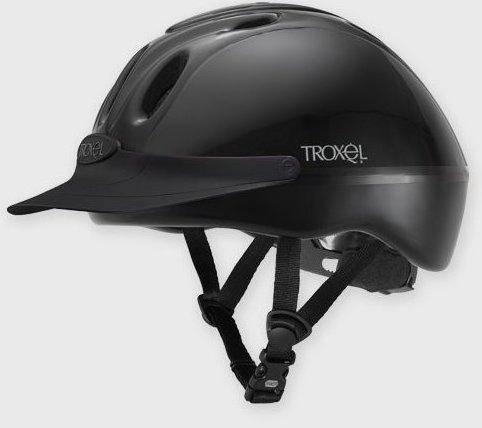 Image 0 of Spirit Schooling Helmet Medium Black by Troxel