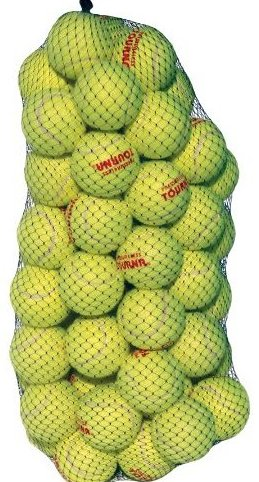 Image 0 of PressureLess Ball Pack of 60 by Tourna